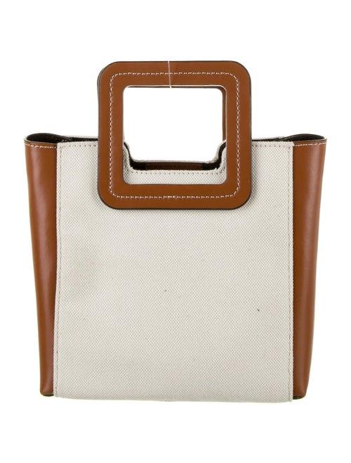 Staud Canvas Shoulder Bag Gold