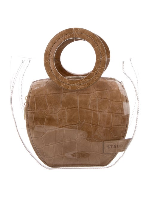 Staud Frida PVC Bag Clear