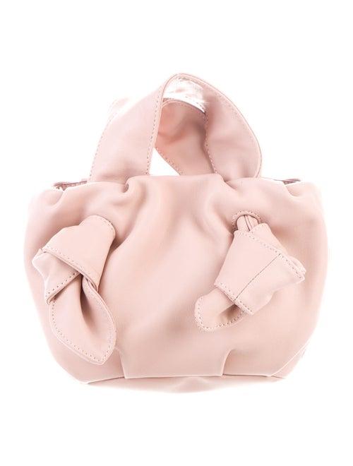 Staud Ronnie Leather Crossbody Pink