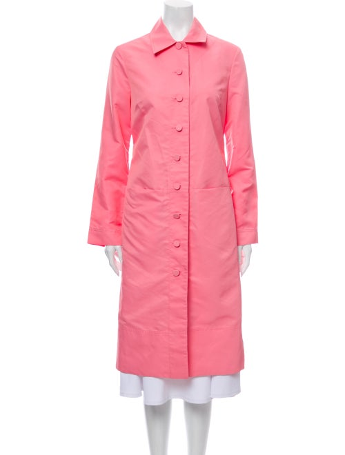 Staud Trench Coat Pink
