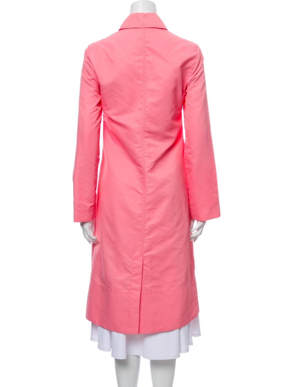 Staud Trench Coat Pink - image 3