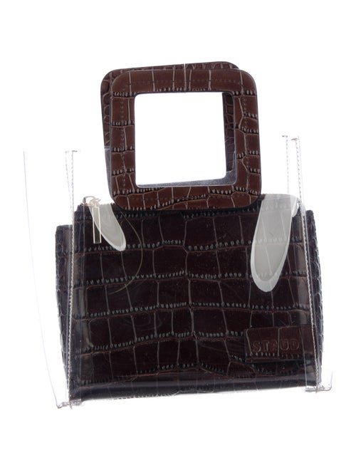 Staud Small PVC Shirley Tote Clear