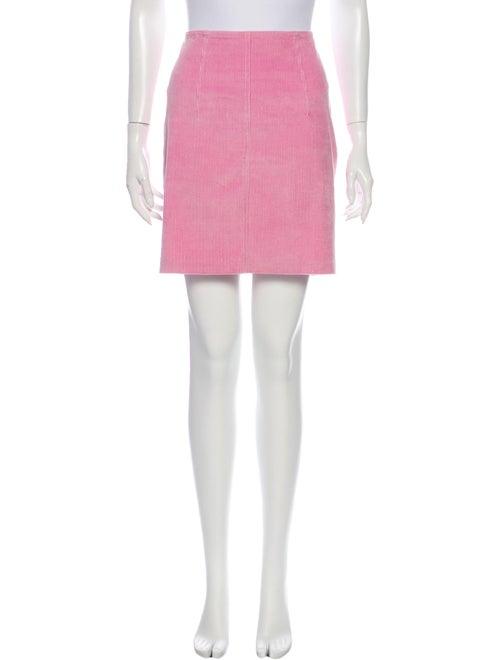 Staud Mini Skirt Pink