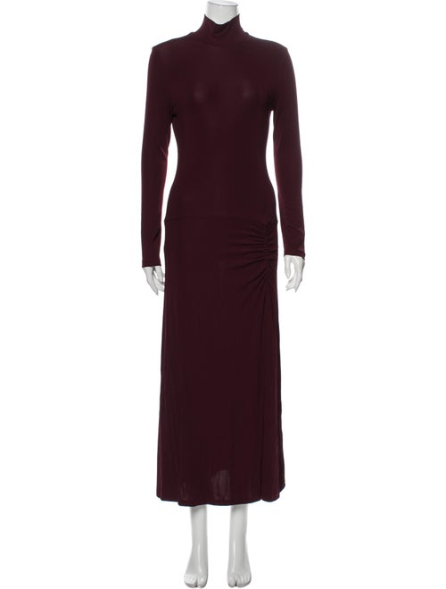 Staud Turtleneck Long Dress