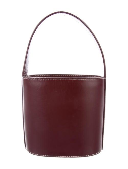 Staud Leather Bucket Bag Gold