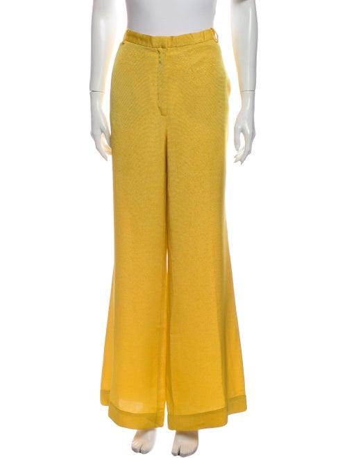 Stine Goya Flared Pants Yellow