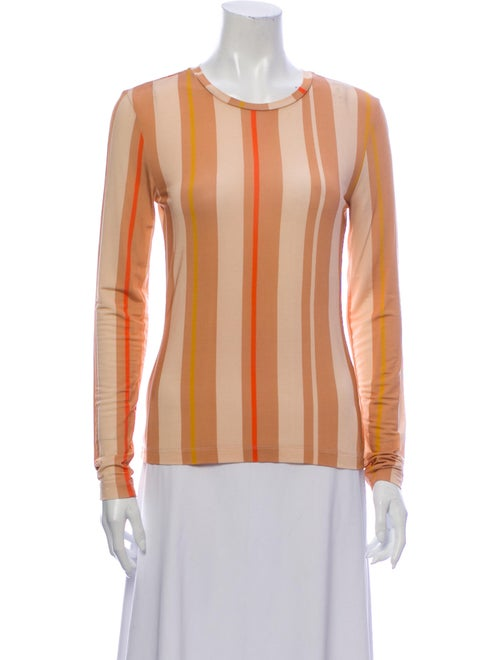 Stine Goya Striped Crew Neck Blouse