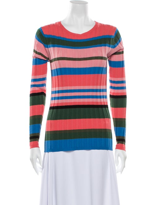 Stine Goya Striped Scoop Neck Sweater