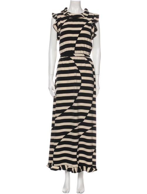 Stine Goya Striped Long Dress