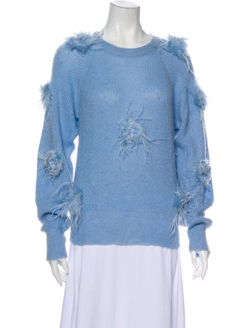 Stine Goya Scoop Neck Sweater Blue