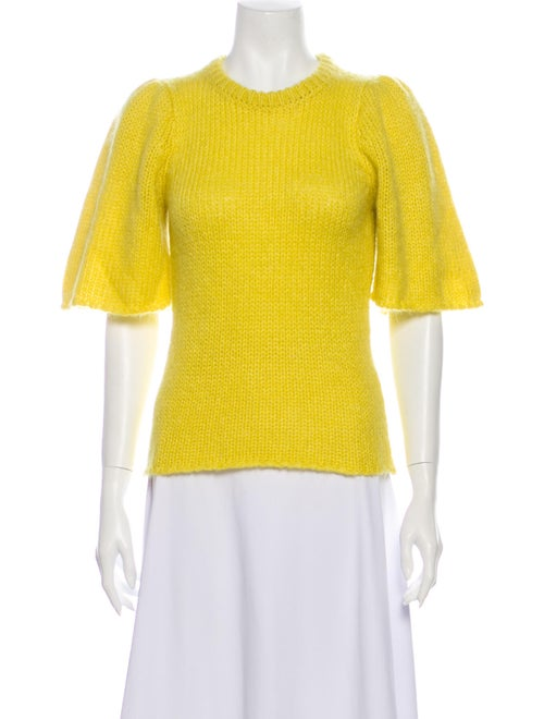 Stine Goya Crew Neck Sweater Yellow