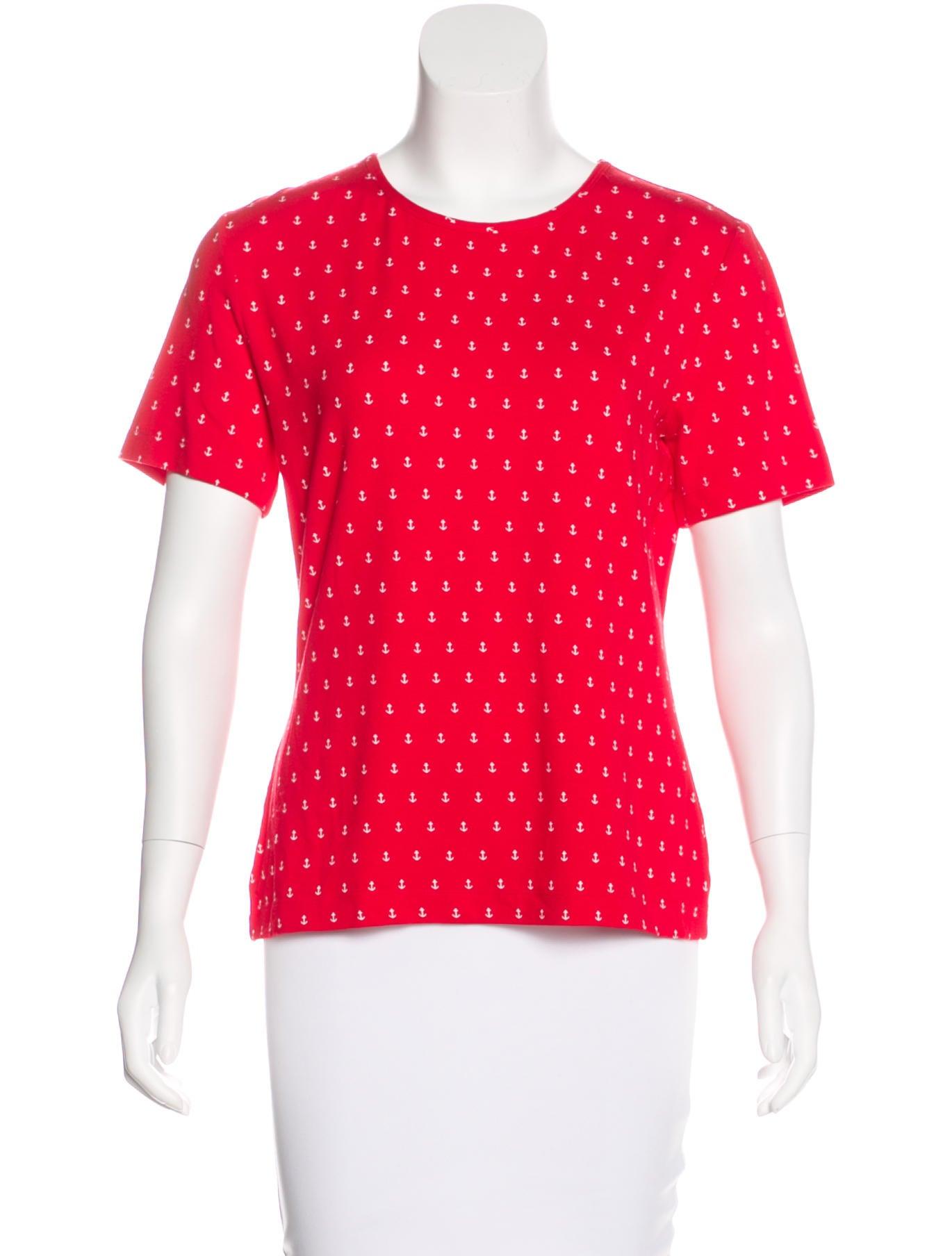 St John Sport Short Sleeve Printed T Shirt Clothing