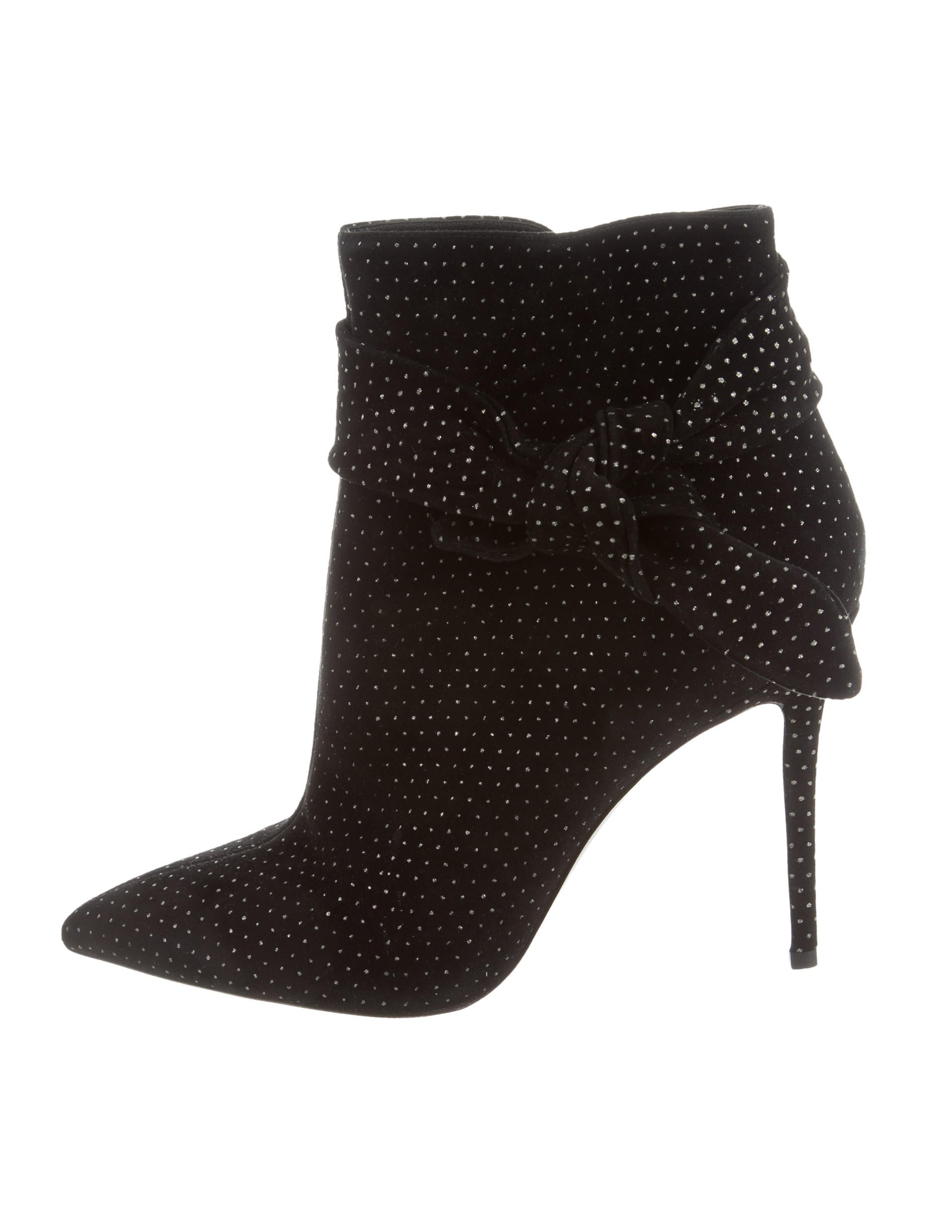 discount brand new unisex Stella Luna Polka Dot Bow Ankle Boots sale cheapest price 4xgKo1jFs