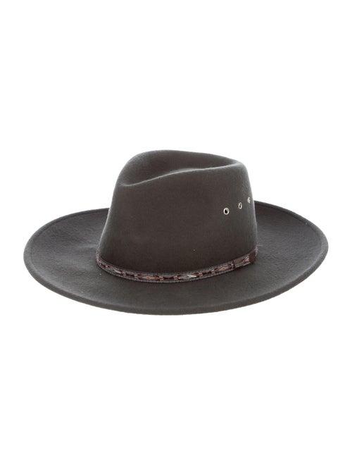 Stetson Wool Fedora Hat Grey