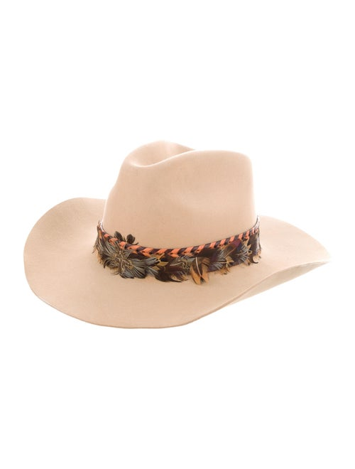 Stetson Feather-Trimmed Cowboy hat