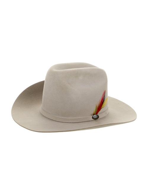 Stetson Wide Brim Hat grey - image 1