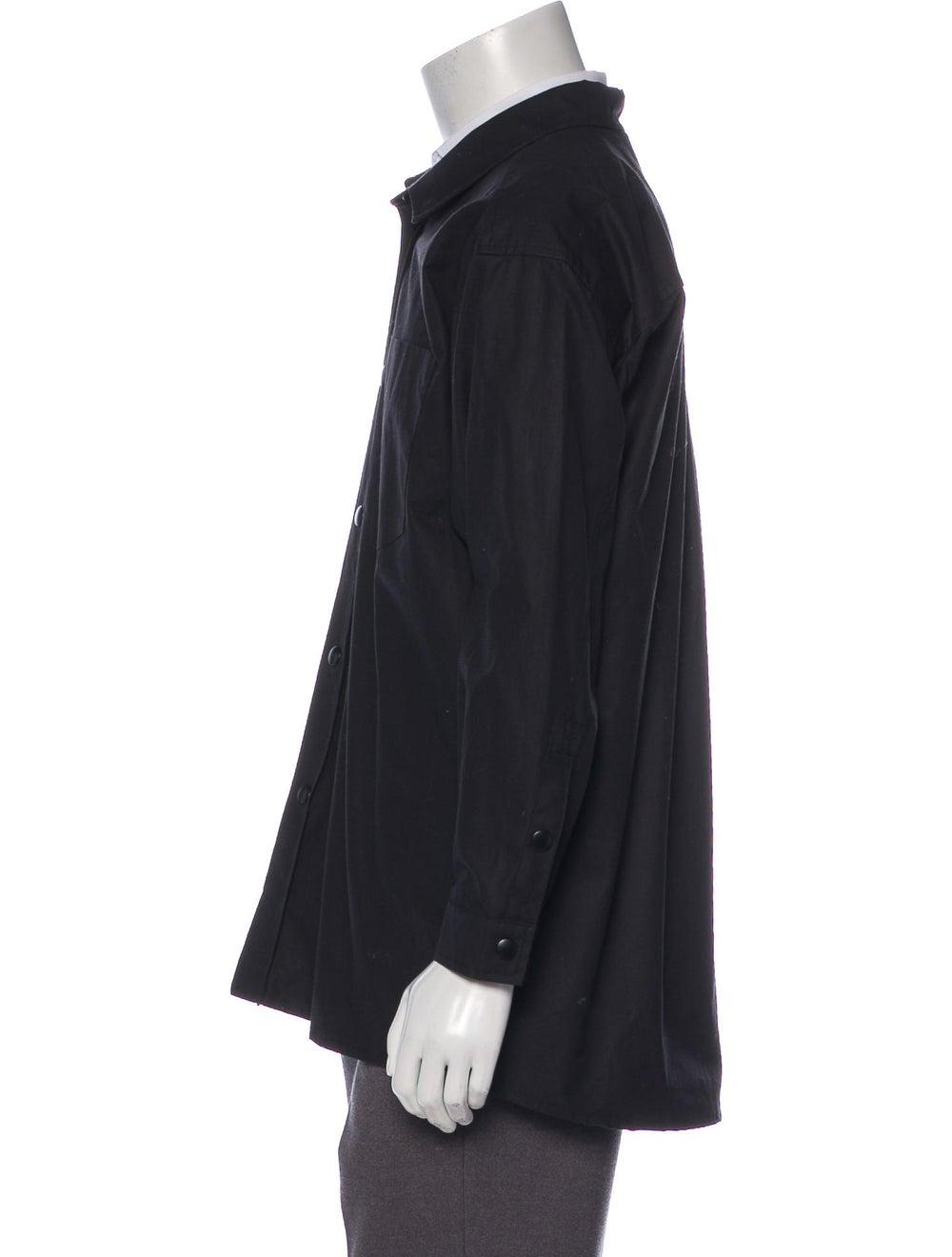 Stutterheim Coated Shirt Jacket - image 2