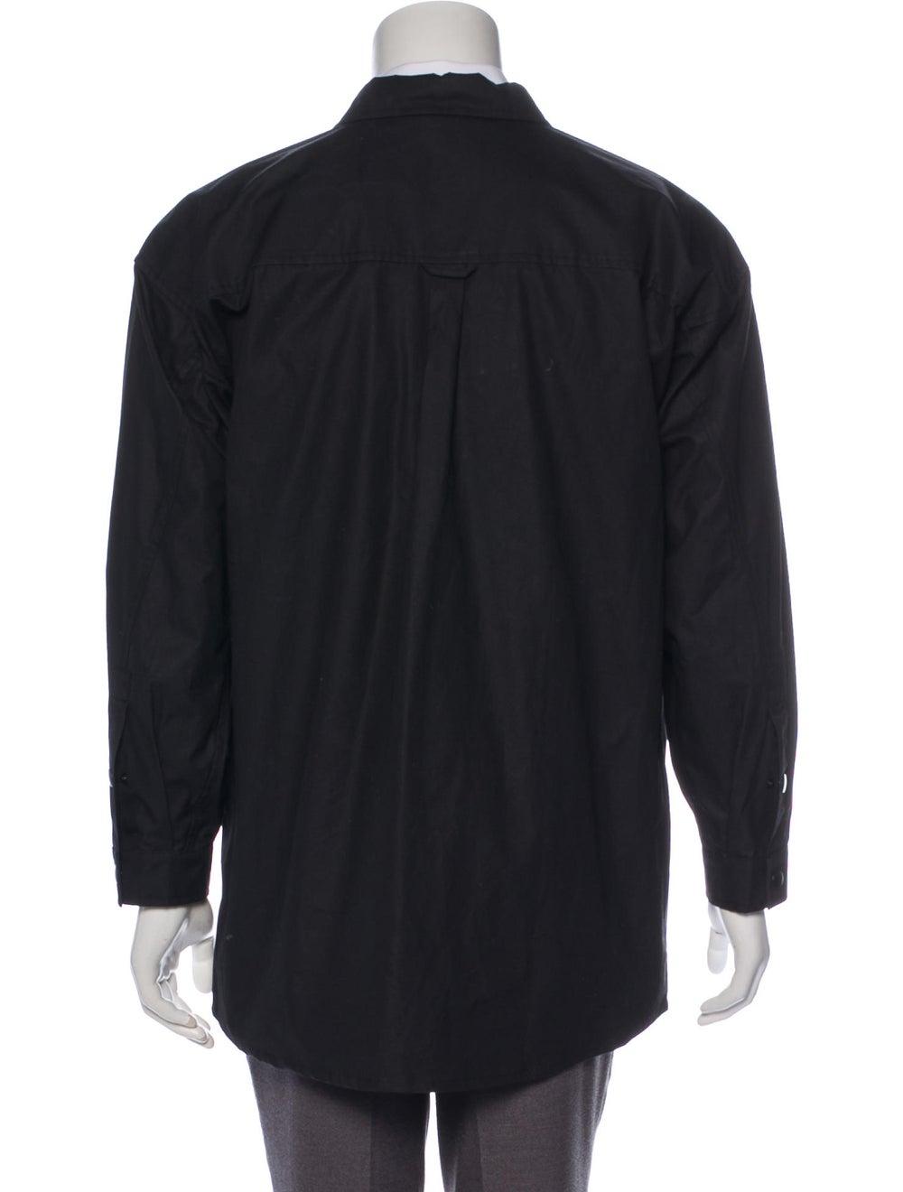 Stutterheim Coated Shirt Jacket - image 3