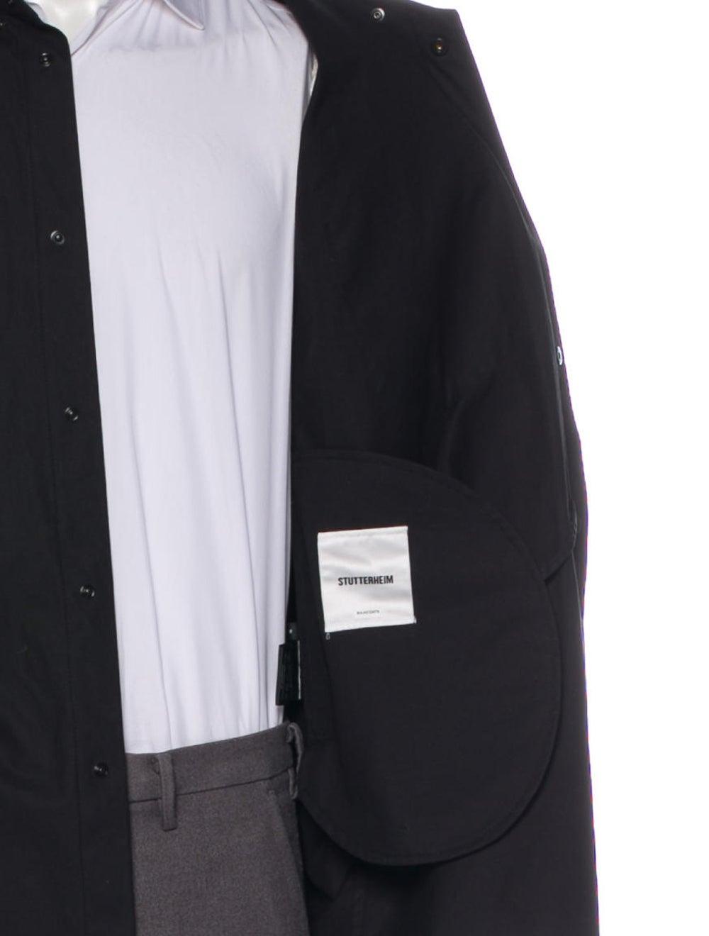 Stutterheim Coated Shirt Jacket - image 4