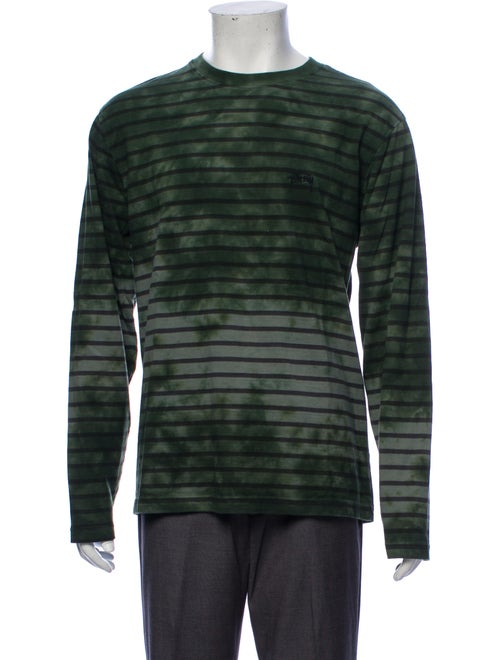 Stüssy Tye Dye Long Sleeve T-Shirt green