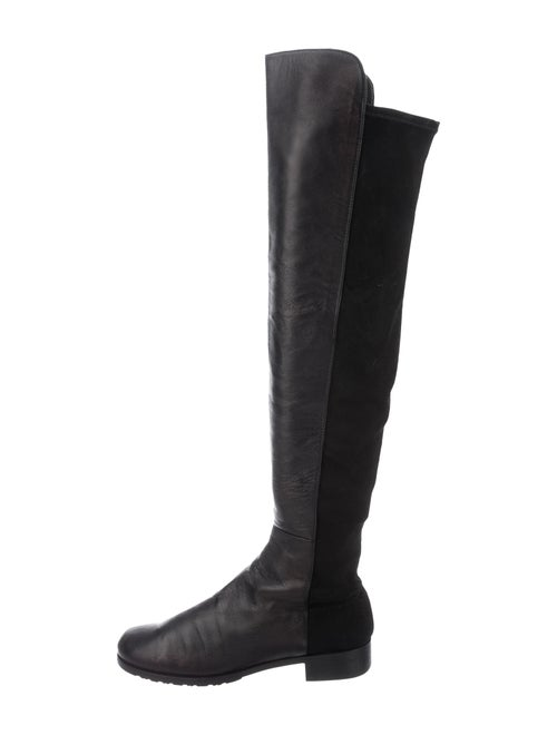 Stuart Weitzman 5050 Over-The-Knee Boots Black