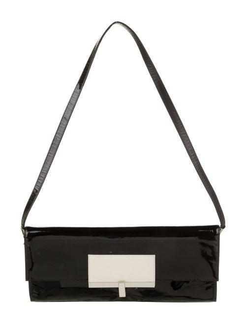 Stuart Weitzman Leather Shoulder Bag Black