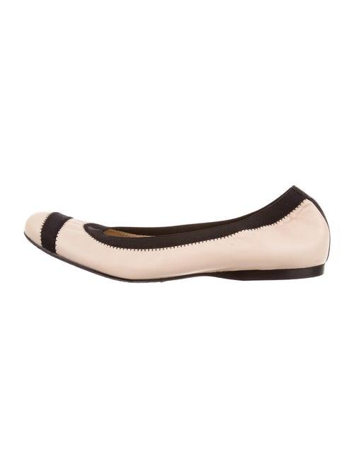 Stuart Weitzman Leather Ballet Flats