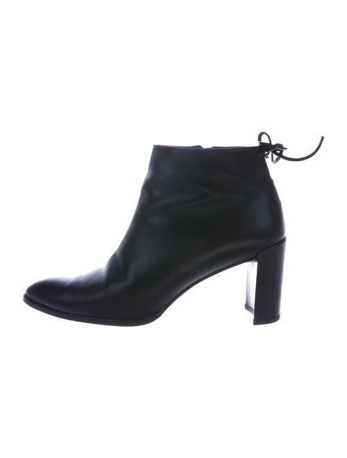Stuart Weitzman Lofty Leather Boots Black