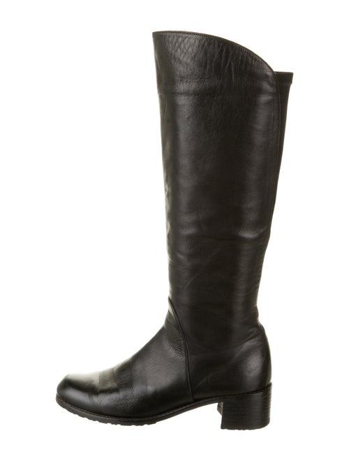 Stuart Weitzman Riding Boots Black