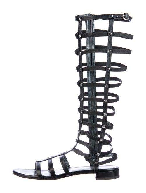 Stuart Weitzman Gladiator Leather Gladiator Sandal