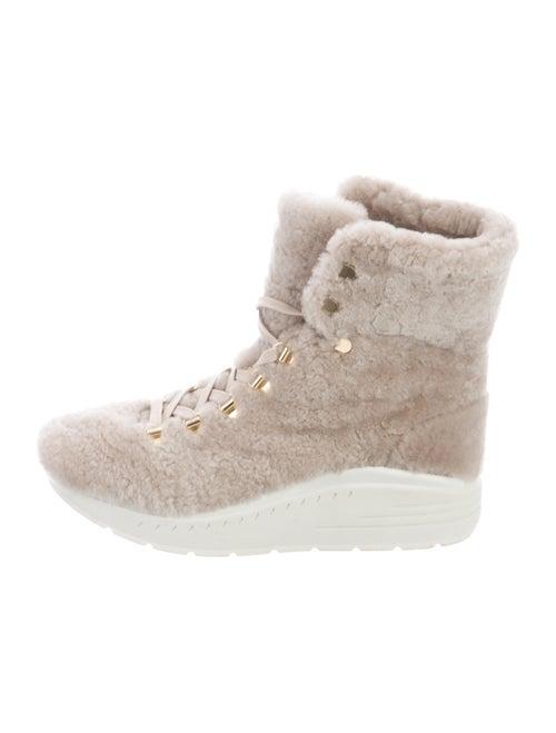 Stuart Weitzman Lace-Up Boots