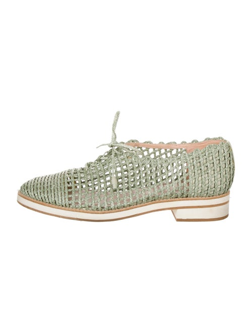 Stuart Weitzman Oxfords Green