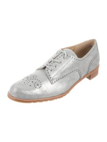 Stuart Weitzman Leather Oxfords