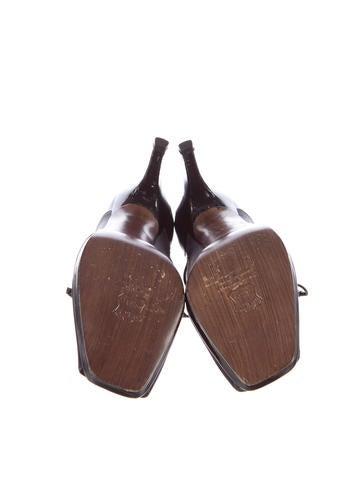 Conventry Peep-Toe Booties