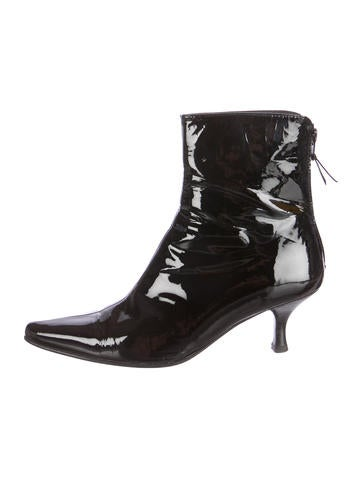 Patent Leather Apollo Booties