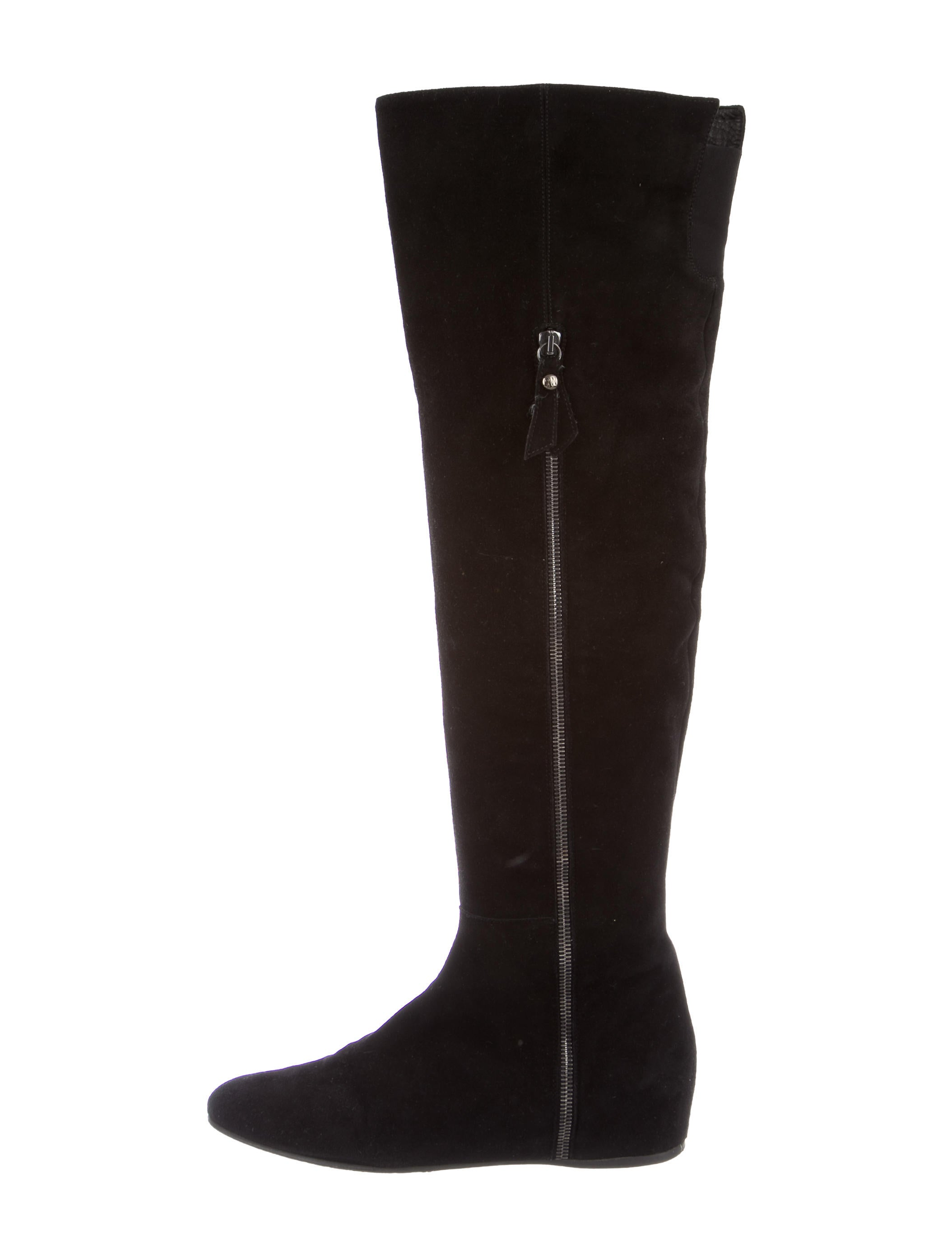 stuart weitzman suede the knee boots shoes