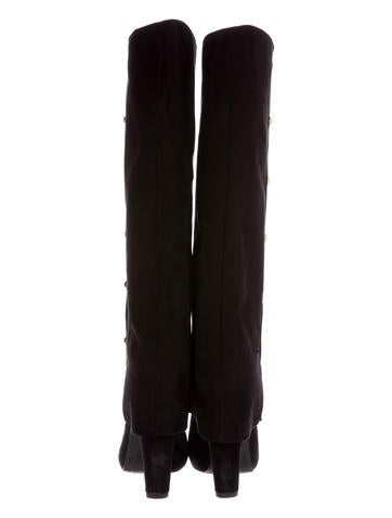 Spats Knee-High Boots