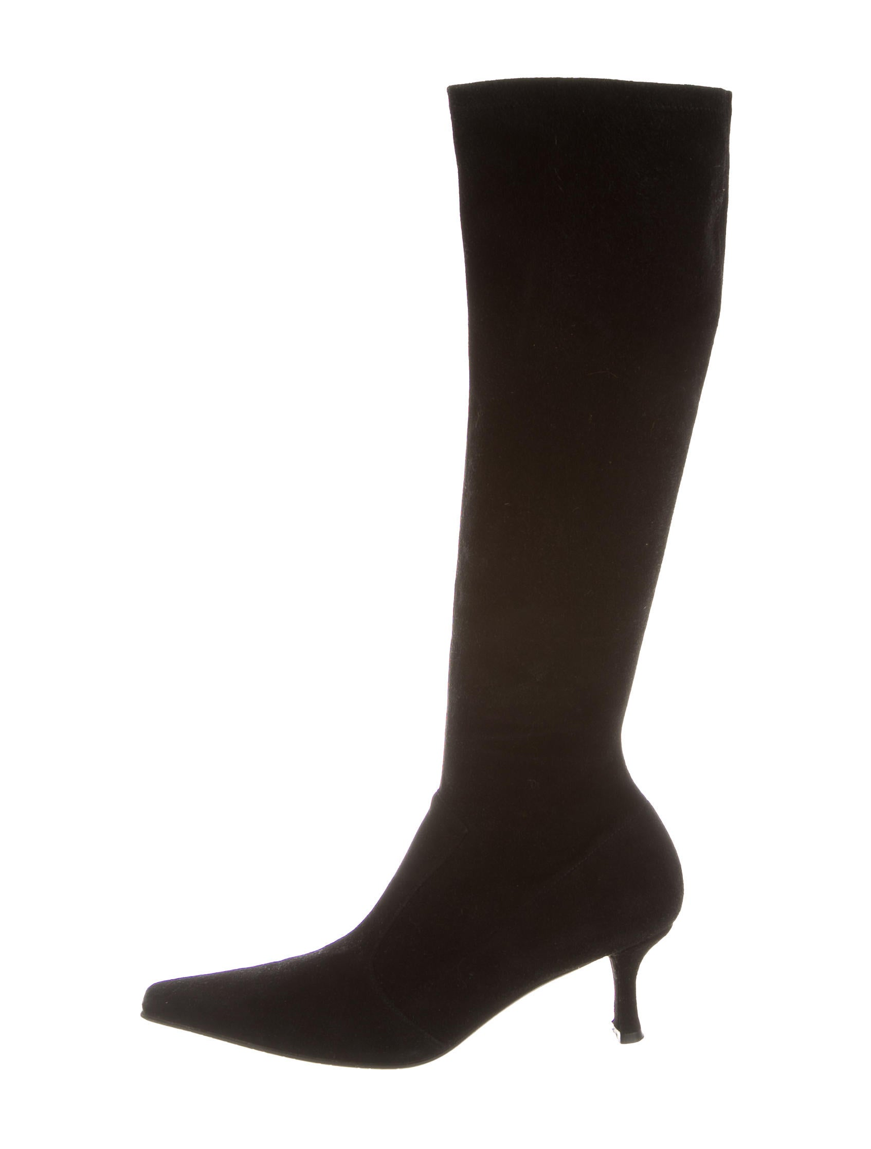 stuart weitzman suede knee high boots shoes wsu23704