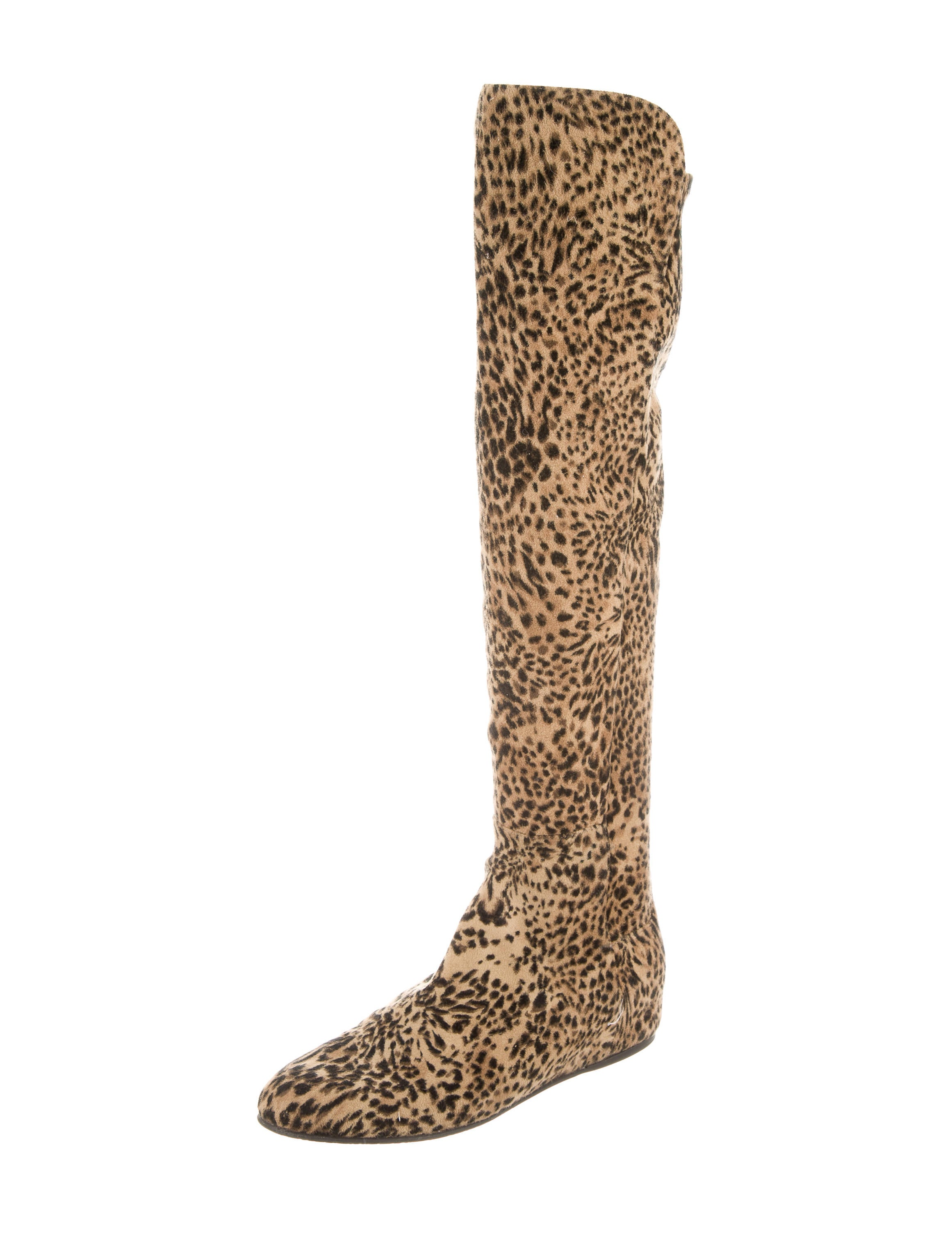 Suede fabric upper Leopard print Block heel Gold tone trim Gold buckle fastening Heel pull tab RI brand side zip fastening Heel height: 6cm. Beige faux suede lace-up boots. Quick view. Add to wishlist. £ Grey suede slouch block heel boots. Quick view. Add to wishlist. £ Black faux suede pointed cone heel boots.
