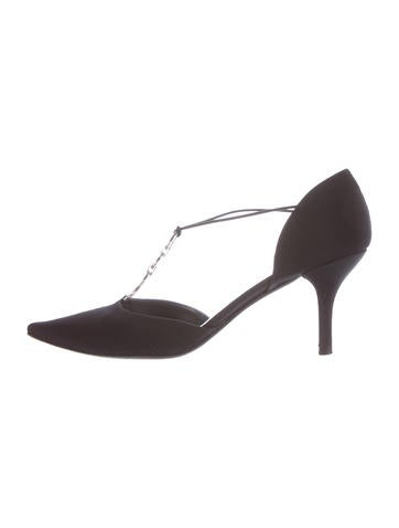 Stuart Weitzman Emebellished Chic Pumps None