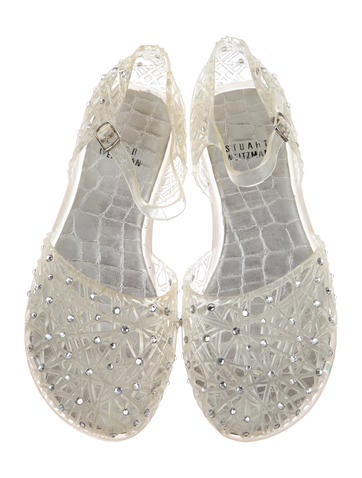Crystal Embellished Flats