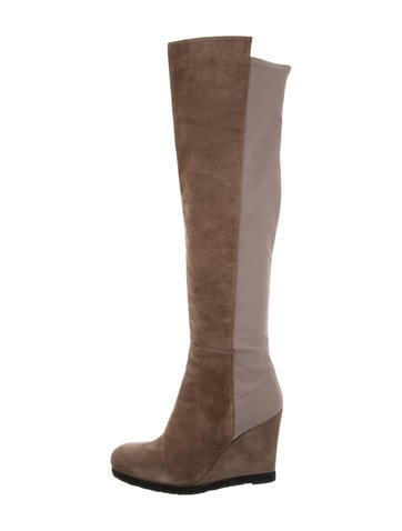 Stuart Weitzman Demiswoon Over-The-Knee Boots w/ Tags None