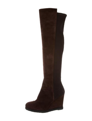 Stuart Weitzman Demiswoon Over-The-Knee Boots None