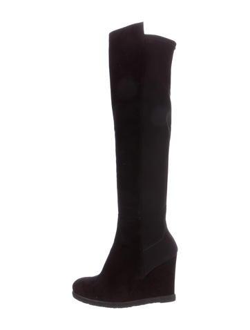 Stuart Weitzman Demiswoon Over-The-Knee Boots None