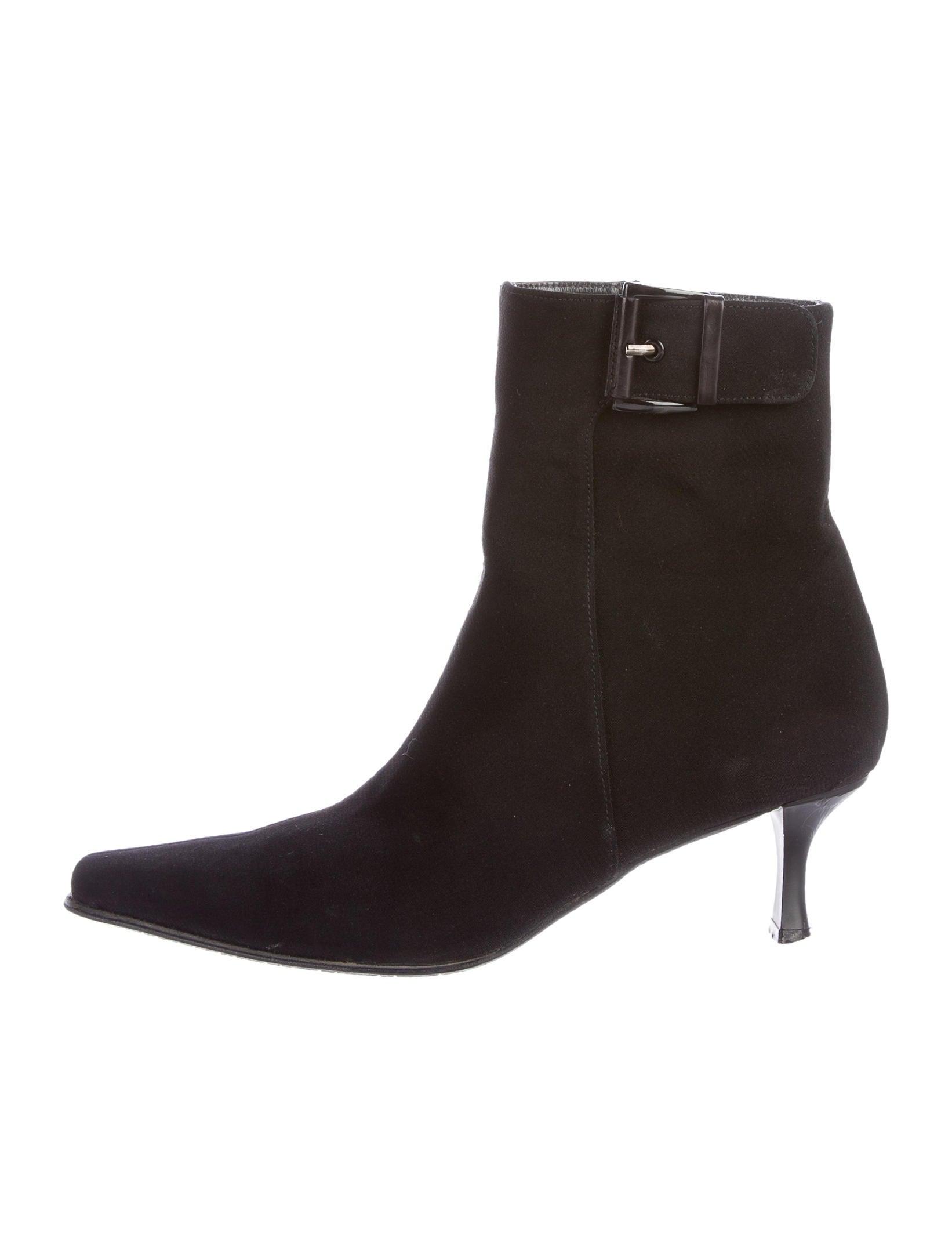 stuart weitzman canvas ankle boots shoes wsu26635