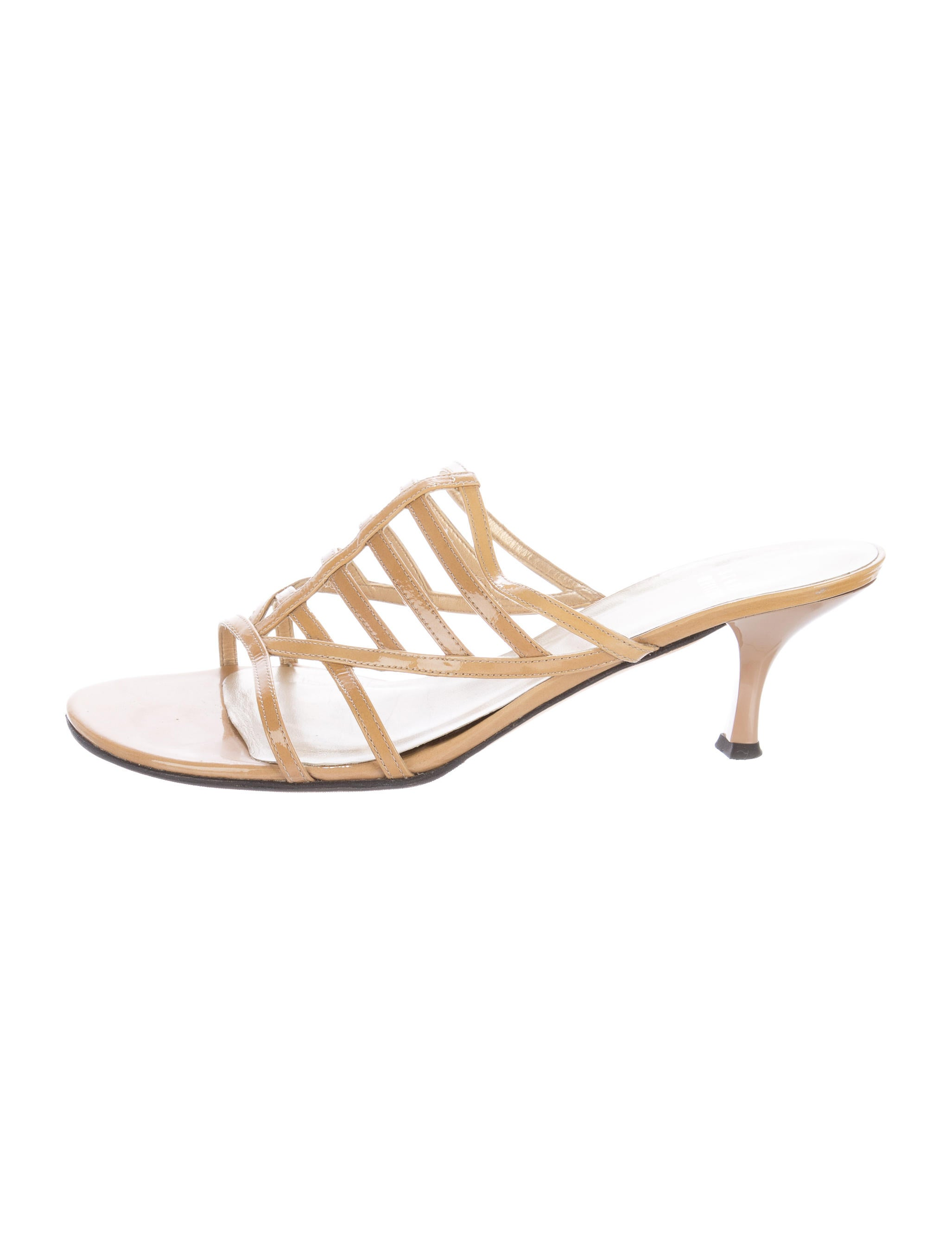 clearance supply Stuart Weitzman Carcel Slide Sandals low shipping fee online good selling 5VlL5H