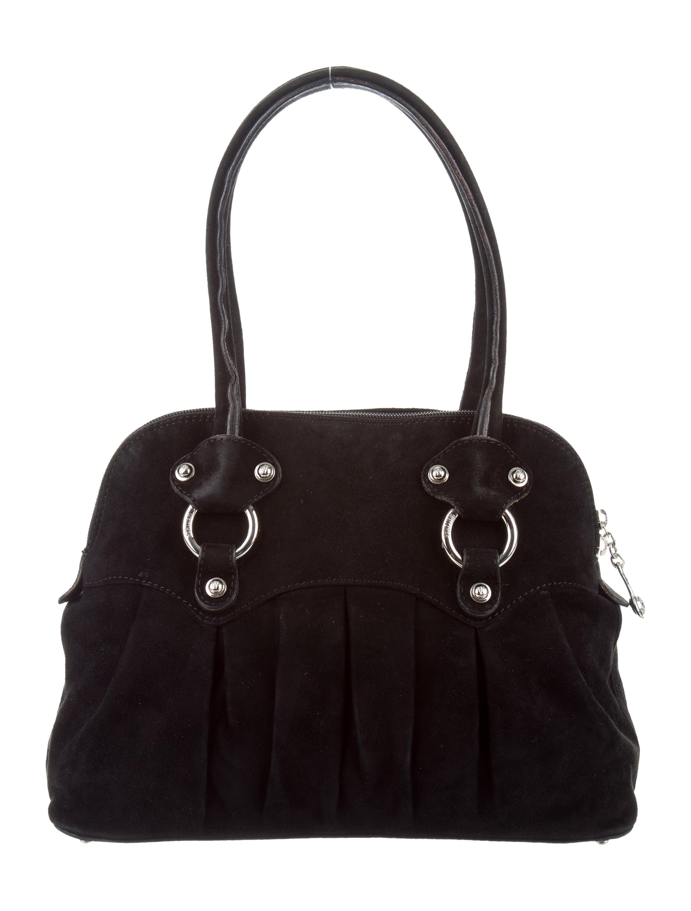 Stuart Weitzman Suede Shoulder Bag Handbags Wsu29212