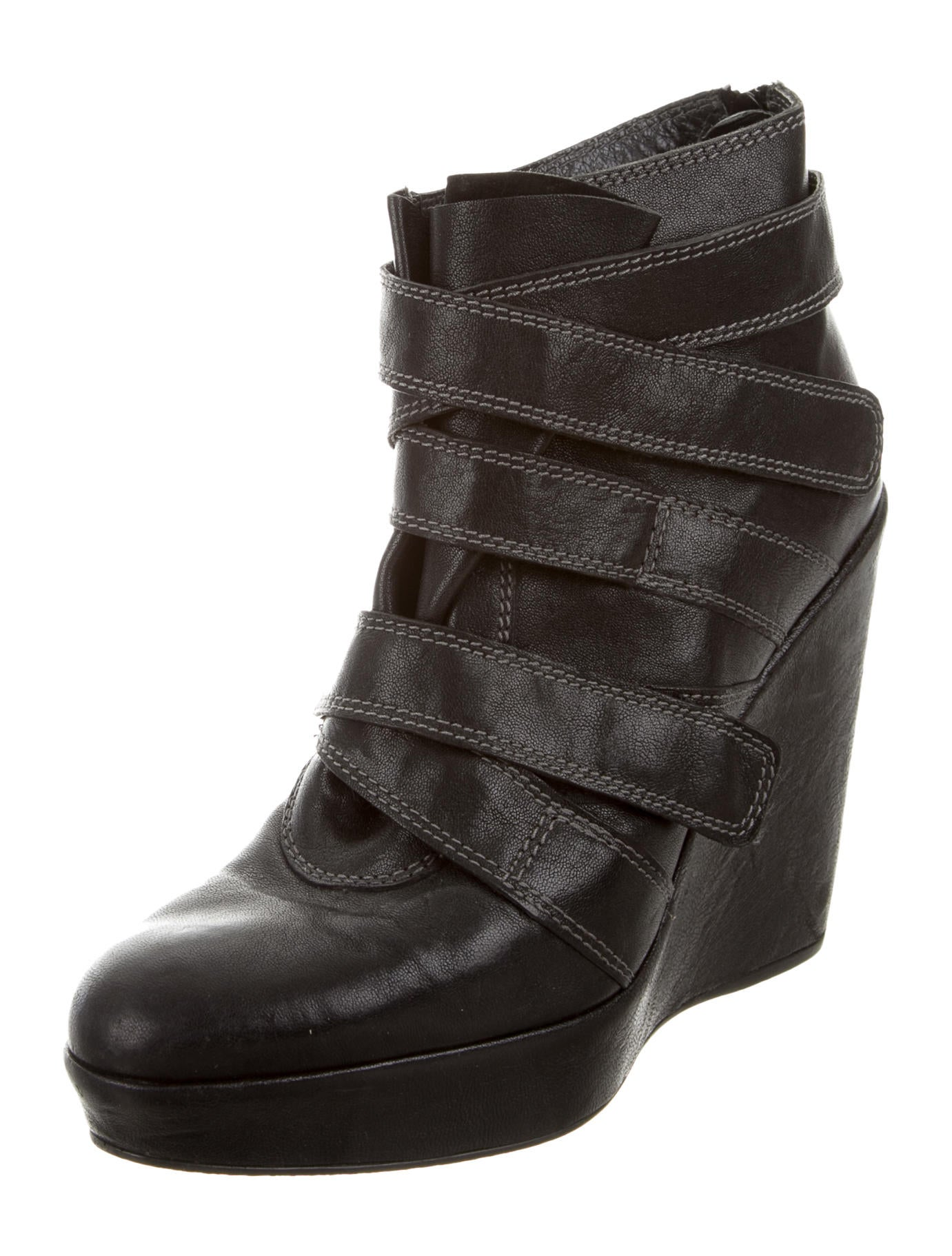 Find great deals on eBay for leather wedge ankle boots. Shop with confidence.