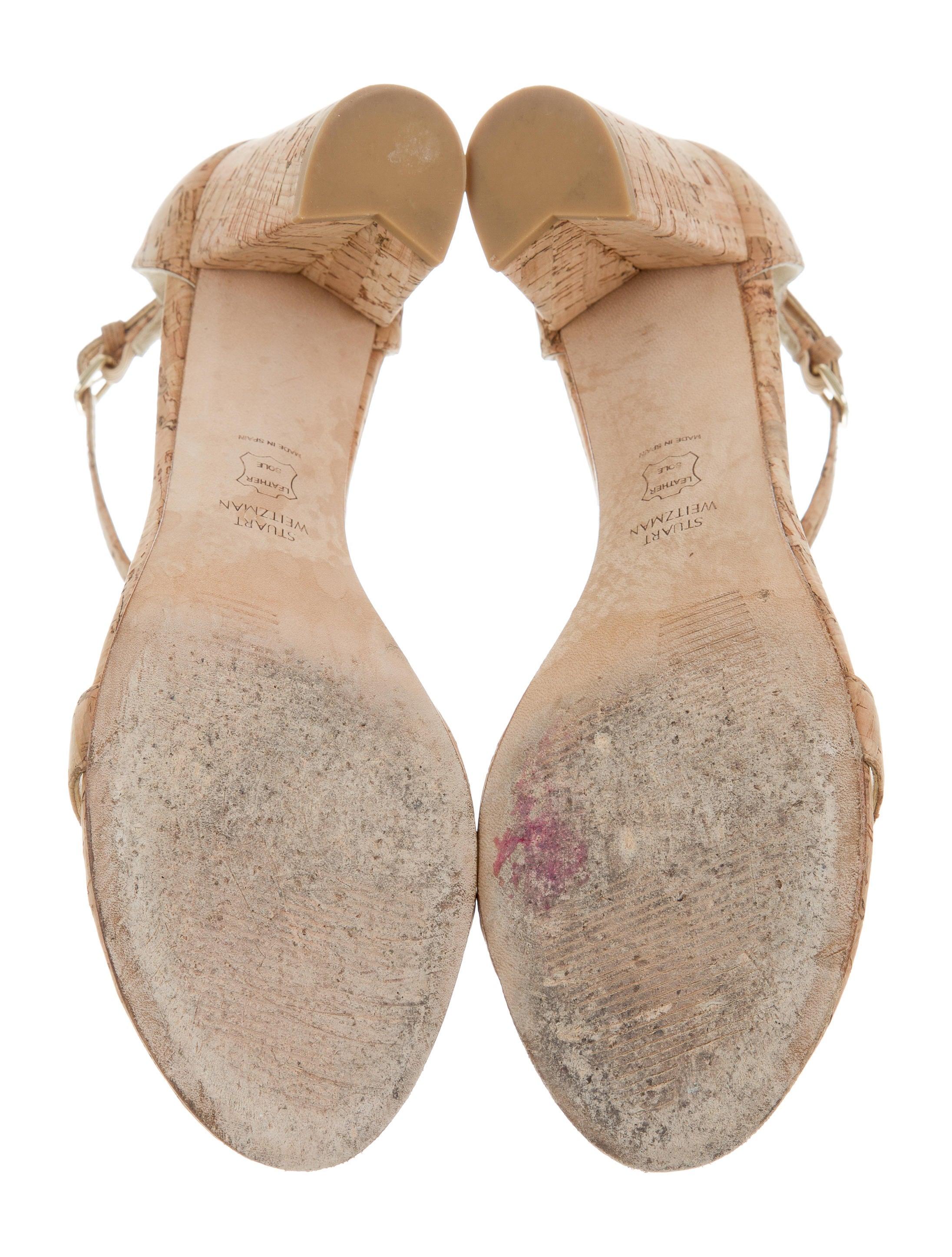 Stuart Weitzman Nearly Nude Sandals - Shoes - Wsu30754  The Realreal-9051