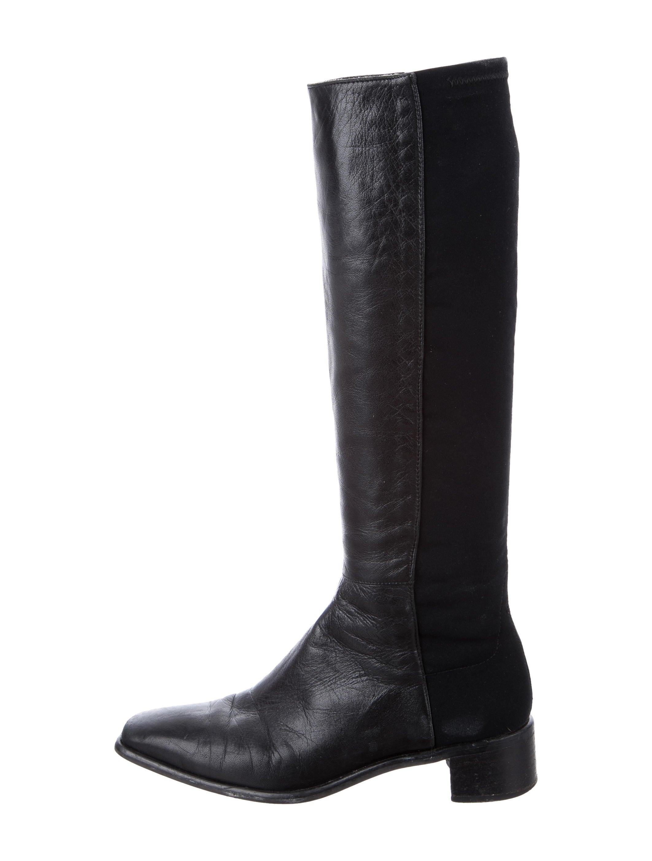 stuart weitzman leather kneehigh boots shoes wsu31425